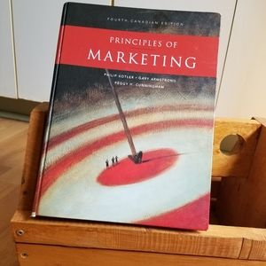 🎓BOOK- Principles of Marketing 4th Canadian Edit.